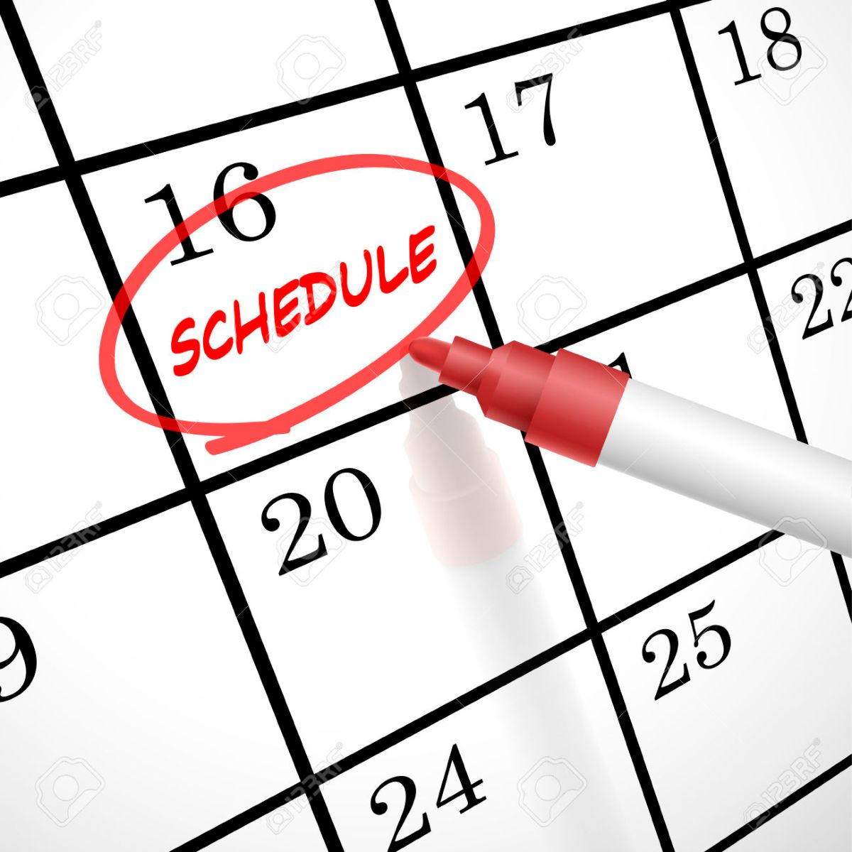 How to Check Your Schedule
